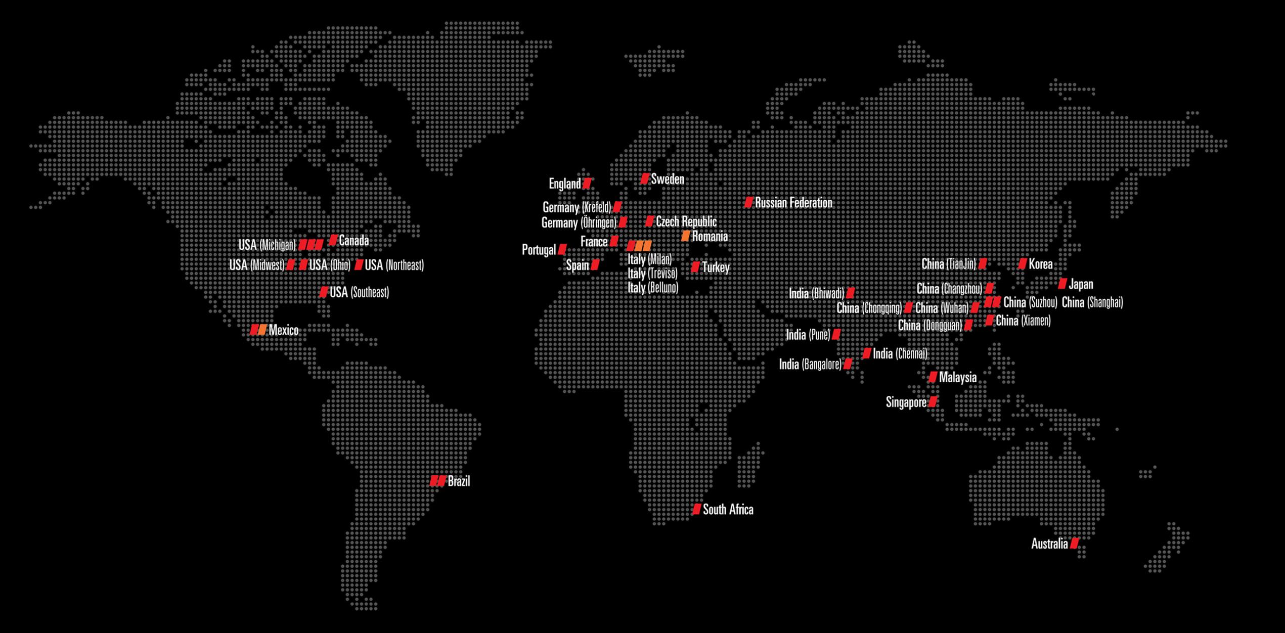 English Global Map