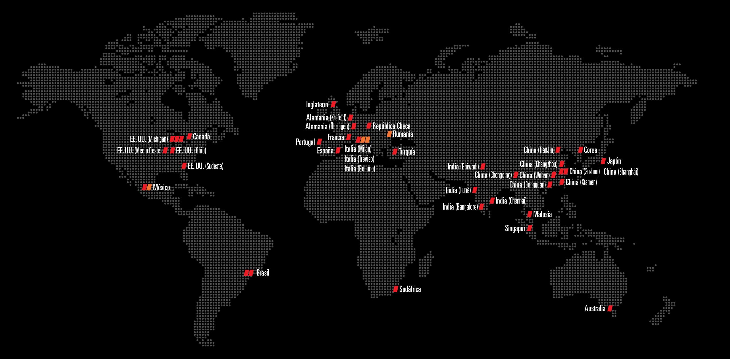 Spanish Global Map